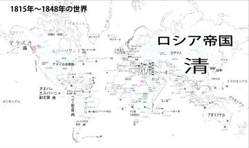 1815年~1848年のヨーロッパ